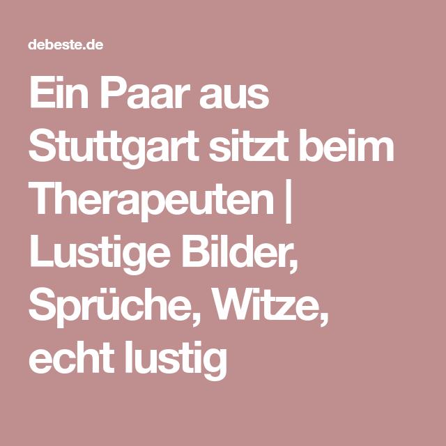 Ein Paar Aus Stuttgart Sitzt Beim Therapeuten Lustige