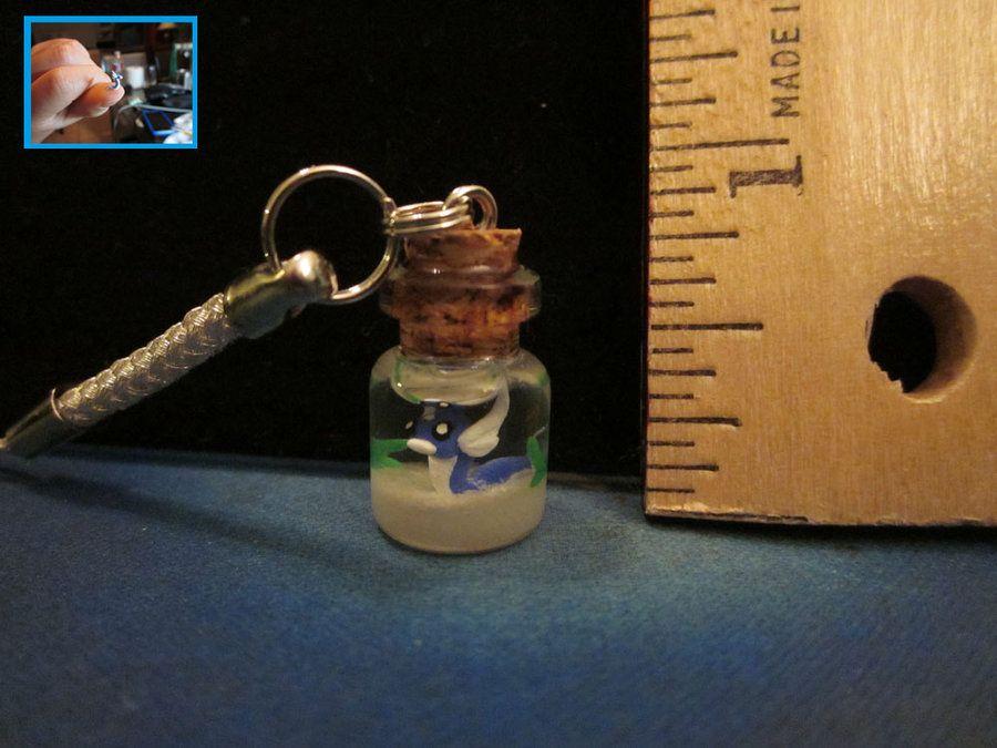 Dratini In A Bottle By Minnichi On Deviantart Bottle Pokemon Craft Glass Bottles