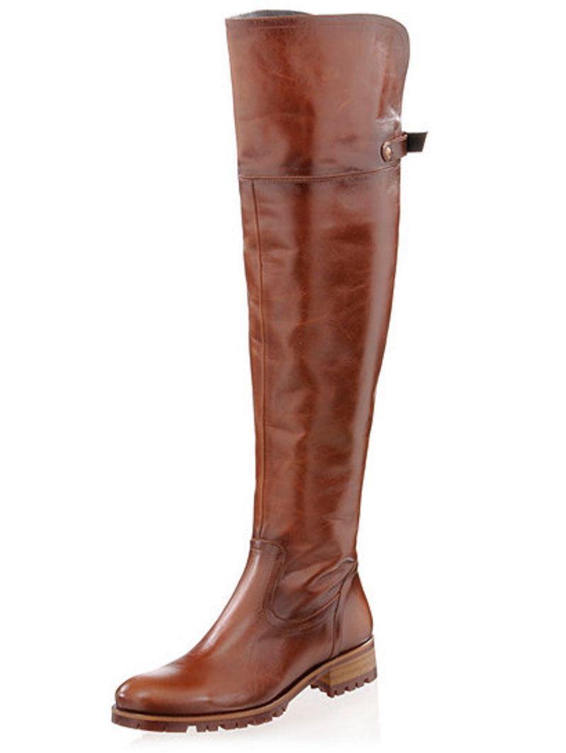ALBA MODA Overknee Stiefel … | Schuhe | Overk…