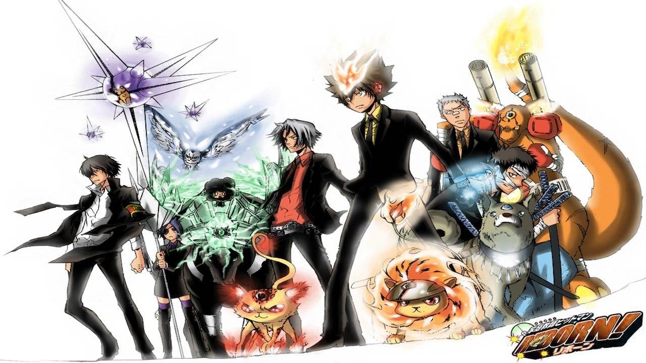 Ghim của Green Deku trên Hitman reborn Anime, Hình ảnh, Mực