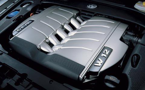 2005 Volkswagen Touareg W12 Sport engine 60L W12 450 BHP