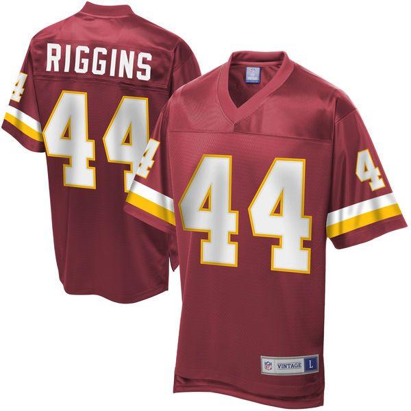 Men's Pro Line Washington Redskins John Riggins Retired Player Jersey…