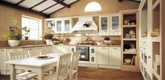 Cucine bianche cerca con google interni arredo pinterest cucine bianche cucine e google - Cucine rustiche bianche ...