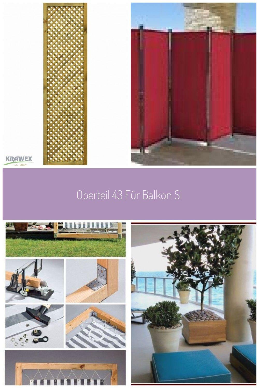 Oberteil 43 Fr Balkon Sichtschutz Stoff Sichtschutzfrbalkon
