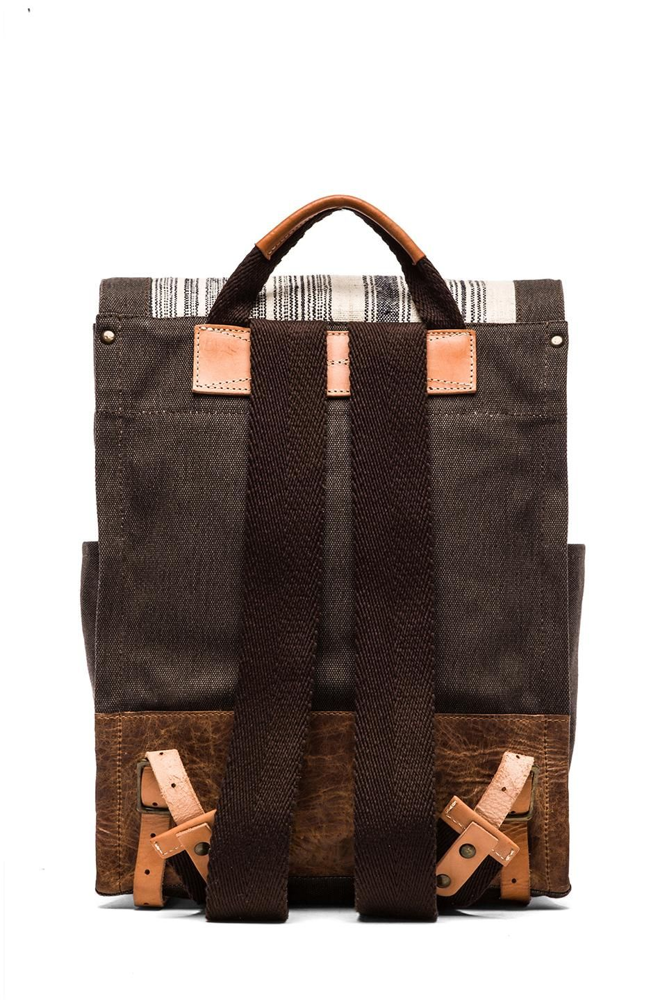 WILL Leather Goods Pha Sin Backpack in Brown REVOLVE