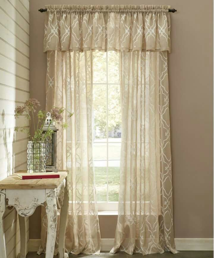 Elegant From (Through The Country Door) Catalog. Curtains