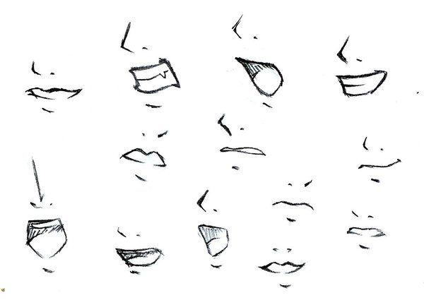 How To Draw Mouths By Tokatoka On Deviantart Nose Drawing Anime Nose Drawing Anime Hands