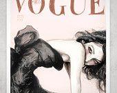 The Sofia Vogue 8in X 11in Art Print