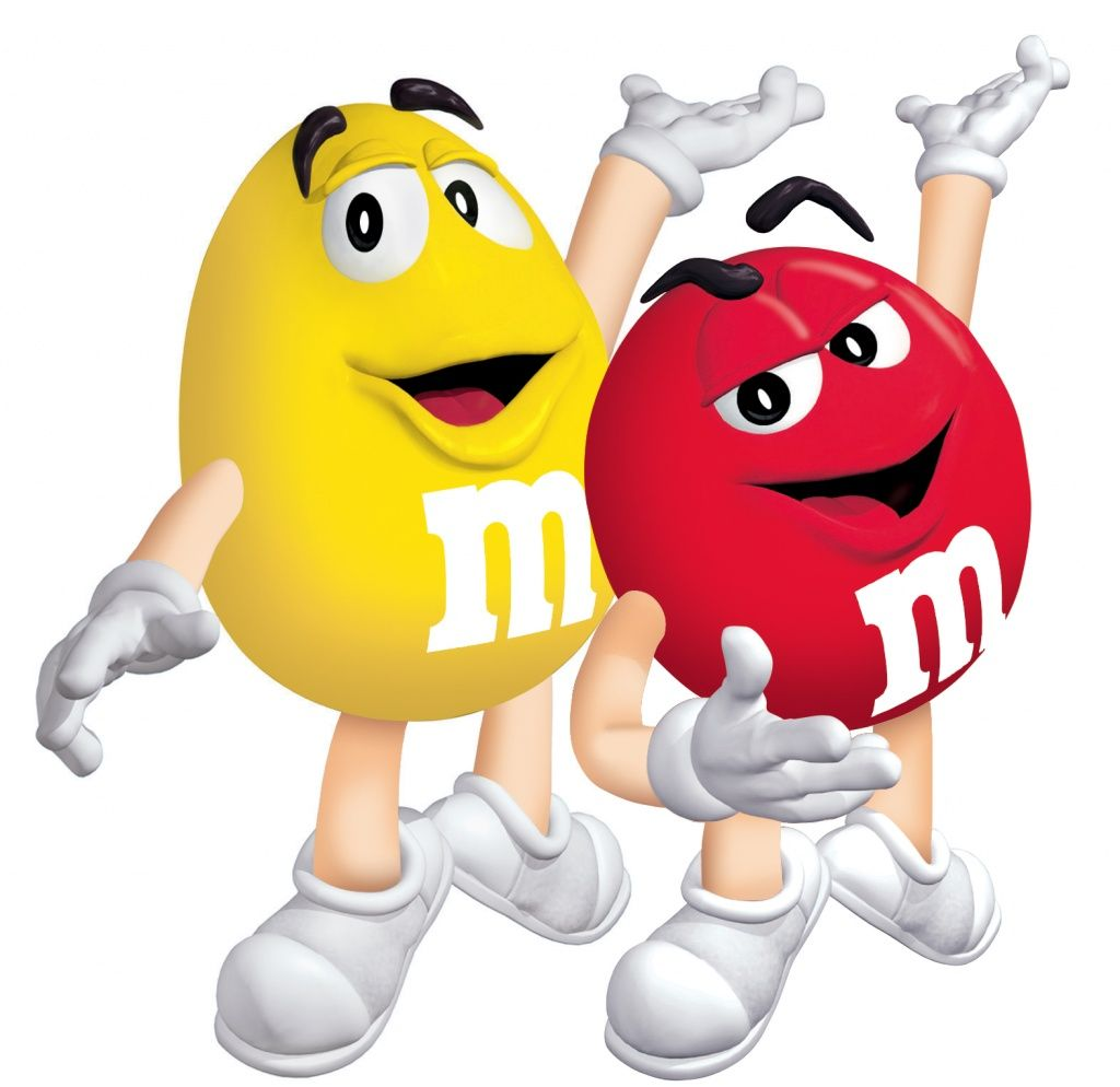 M M S Red Yellow M M Characters M M Candy Clip Art