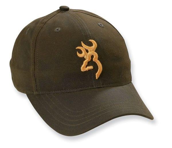 Browning Men s Brown Buckmark Hat Back40Trading.com  d9e882de30aa
