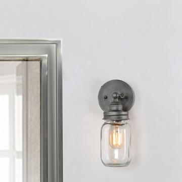 LNC HOME Transitional Wall Sconces Bathroom Lighting A03497-1 Wall