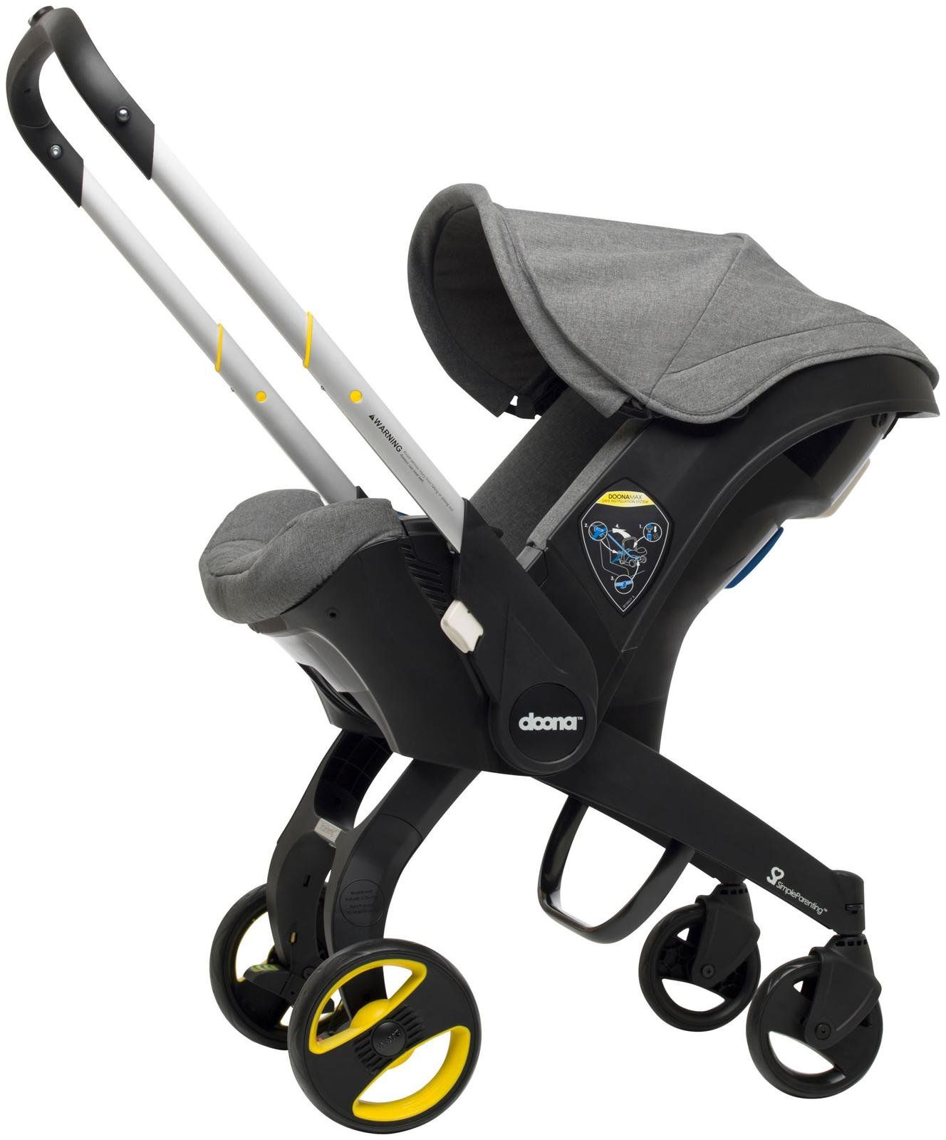 Doona Infant Car Seat & Base Storm Doona car seat