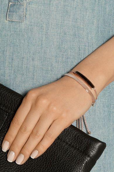 06ad369f58d4f Monica Vinader - Bracelet d'amitié en plaqué or rose Fiji   Monica ...