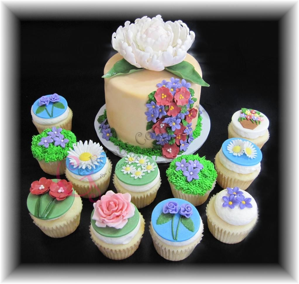 Garden Themed Cake Ideas Looking for cake decorating project inspiration check out garden looking for cake decorating project inspiration check out garden theme by member gloria f workwithnaturefo