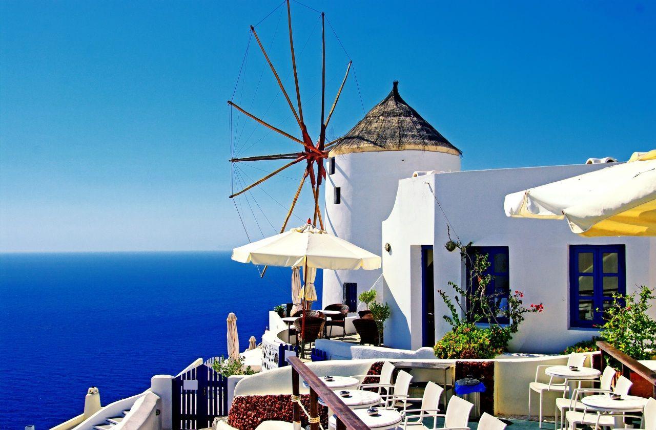 Greece. Santorini .