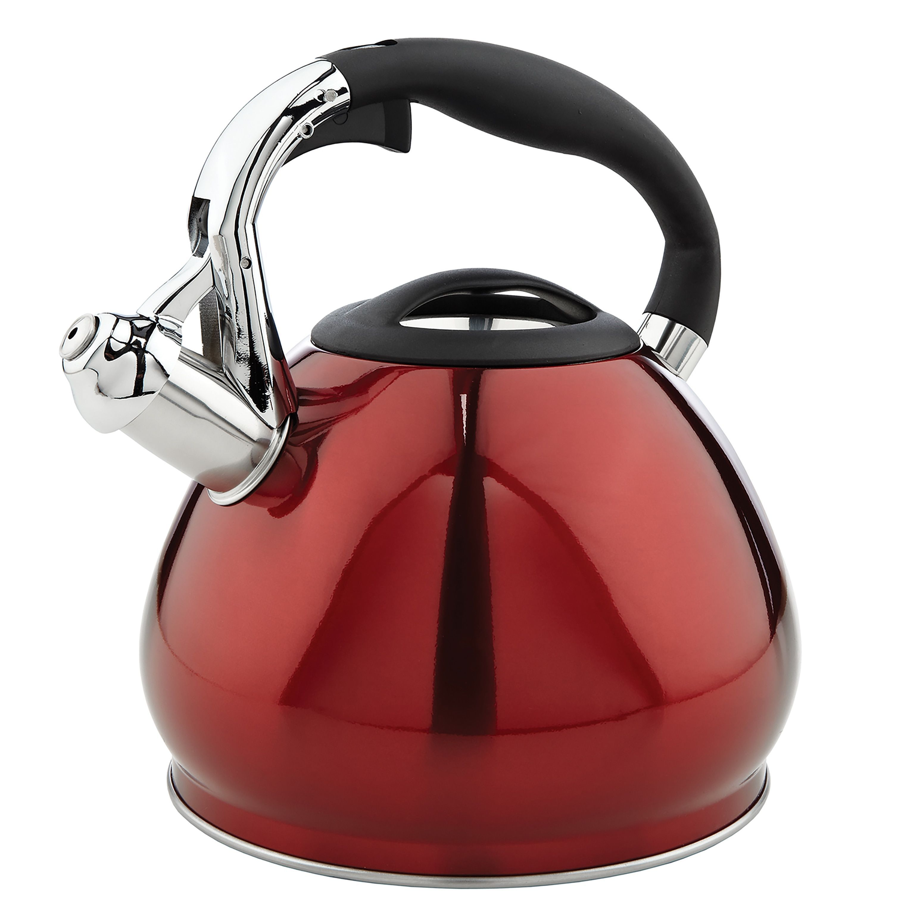 Simply kitchen details red stainless steel cup tea kettle tea