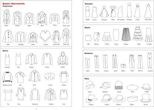 Image Result For Fashion Sketchbook Templates