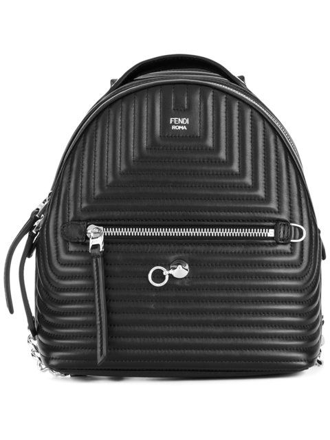 f6ca2f36ca Fendi Mini Quilted Backpack - Farfetch