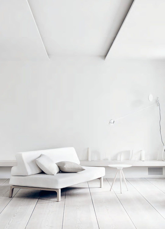Canapé lit / design scandinave / en tissu / 2 places - NORDIC : LAZY ...