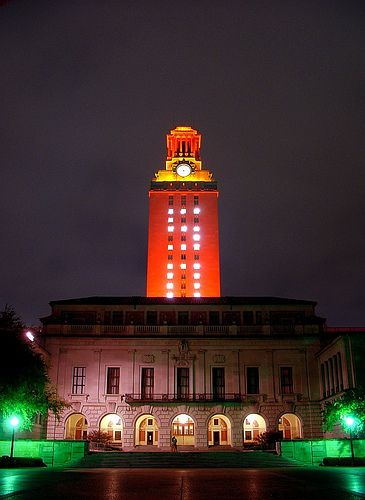 The UT Tower - Austin Texas & UT Tower 50 | Austin texas Texas and Tower