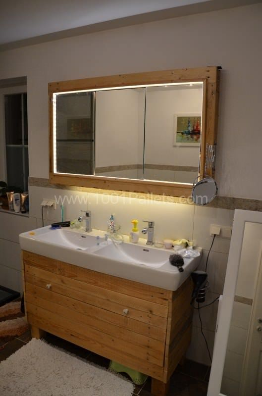 Rustic Bathroom Ideas You Can Make With Pallet Wood Page Of - Pallet ideas for bathroom
