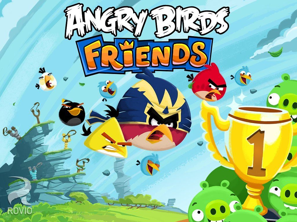 Angry Birds Friends Mod Apk Unlimited Coins Free Download