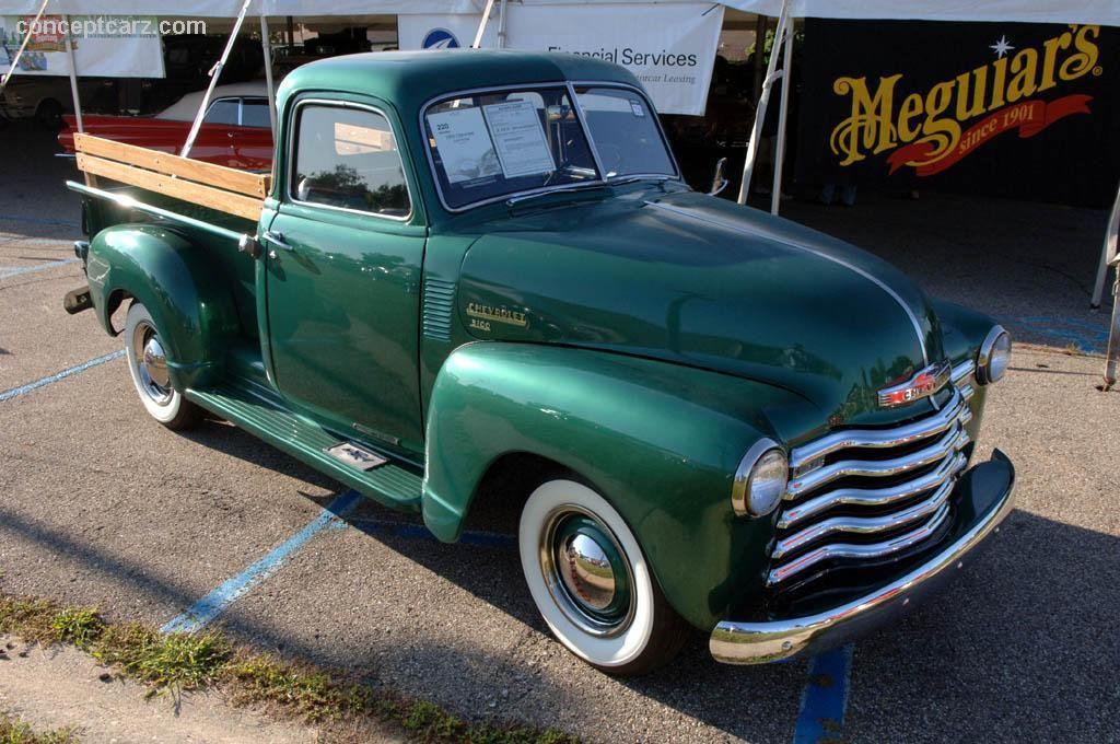 1950 Chevrolet 3100 Pickup  Vintage Chevy Trucks  Pinterest