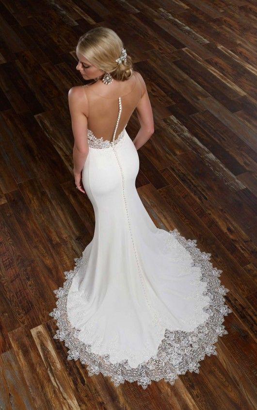 26+ Illusion back wedding dress ideas in 2021