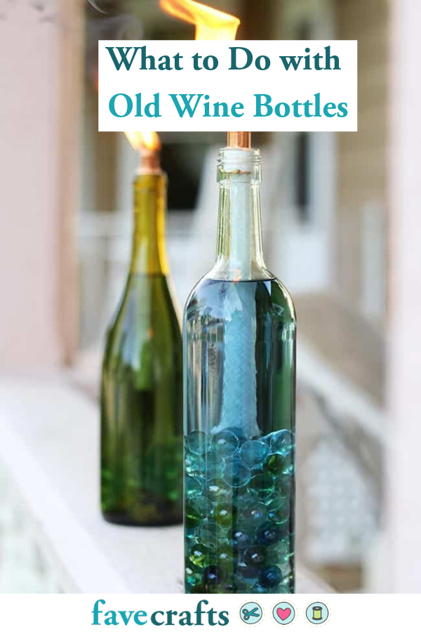Wine Bottle Crafts 30 Things To Do With Old Wine Bottles Wine Bottle Outdoor Wine Bottle Decor Wine Bottle Citronella Candles