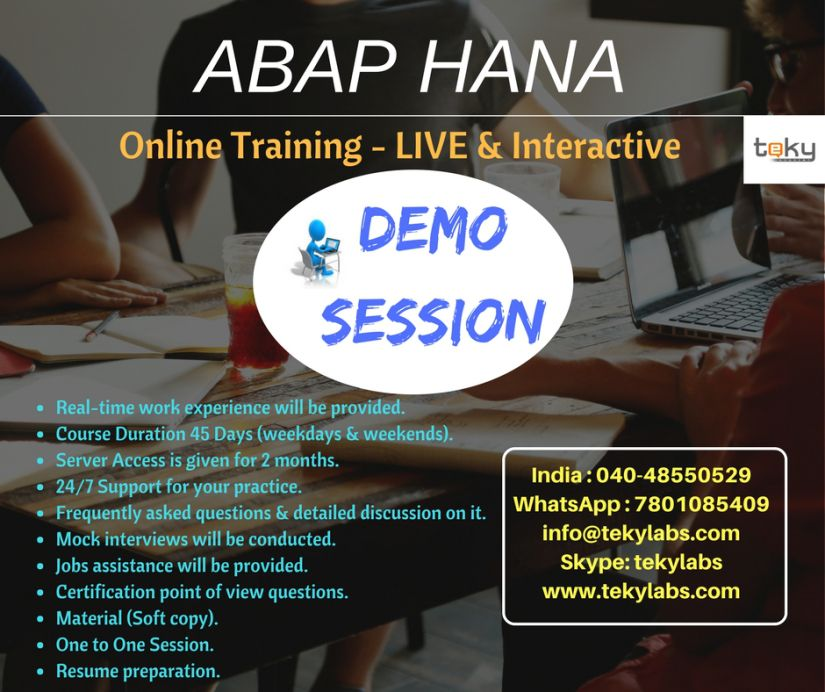 Pin by Teky Labs on SAP Online Training Hana, Train