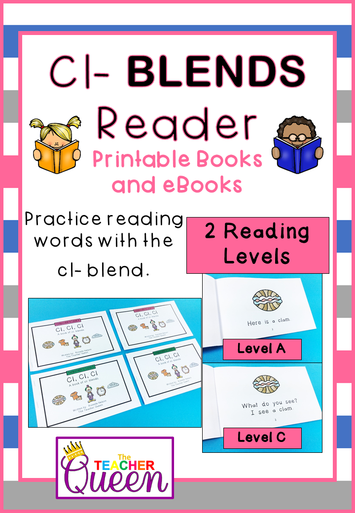 Cl Blend Readers Levels A And C Printable Books And Ebooks