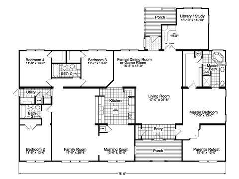 Floor Plan The Gotham Flex VR B