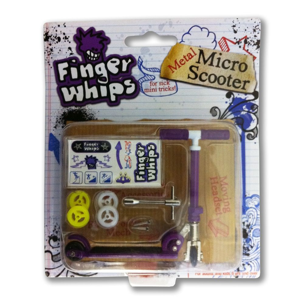 Finger Whips Metal Micro Scooter Purple £4.99 Micro