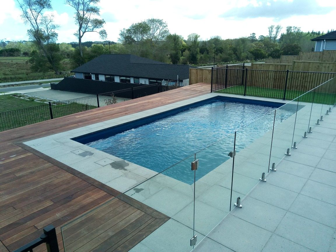 Poolscape With Deck Glass Pool Fencing Aluminum Pool Fence Pool Fence