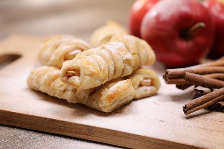 حلى البف باستري بالتفاح والقرفة بالفيديو مطبخ سيدتي Recipe Cooking Recipes Recipes Cooking