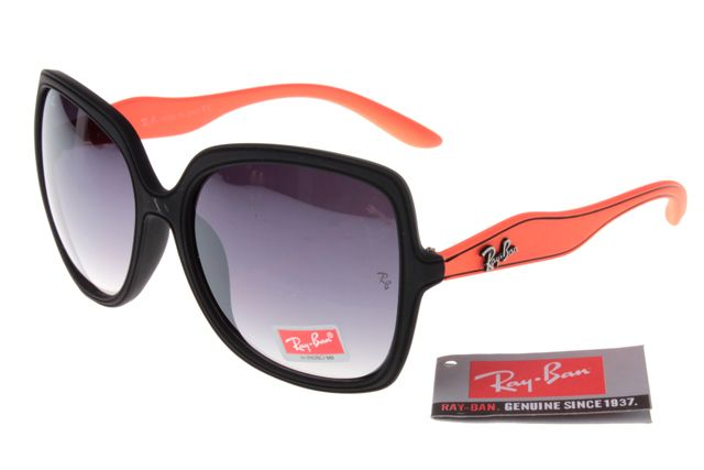 Ray-Ban Jackie Ohh 2085 Black Orange Frame Gray Lens RB1040  RB-1052 ... 15f0c248fb1
