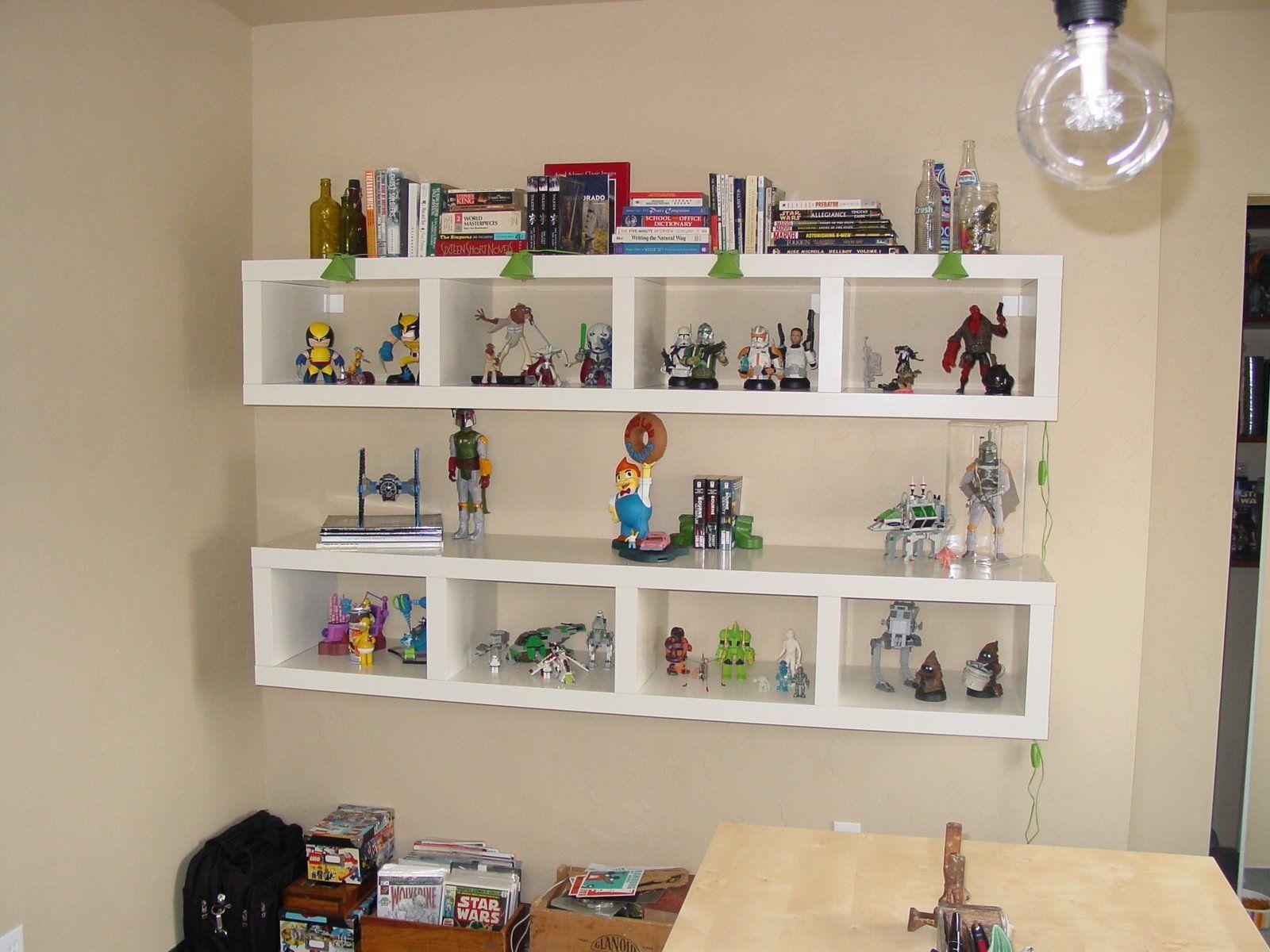 Amusing Colorful Wooden Floating Ikea Spice Rack Bookshelf