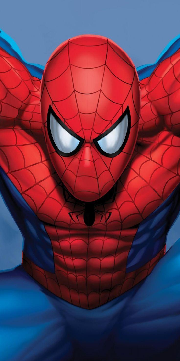 imposing wallpaper Spiderman, superhero, artwork, marvel