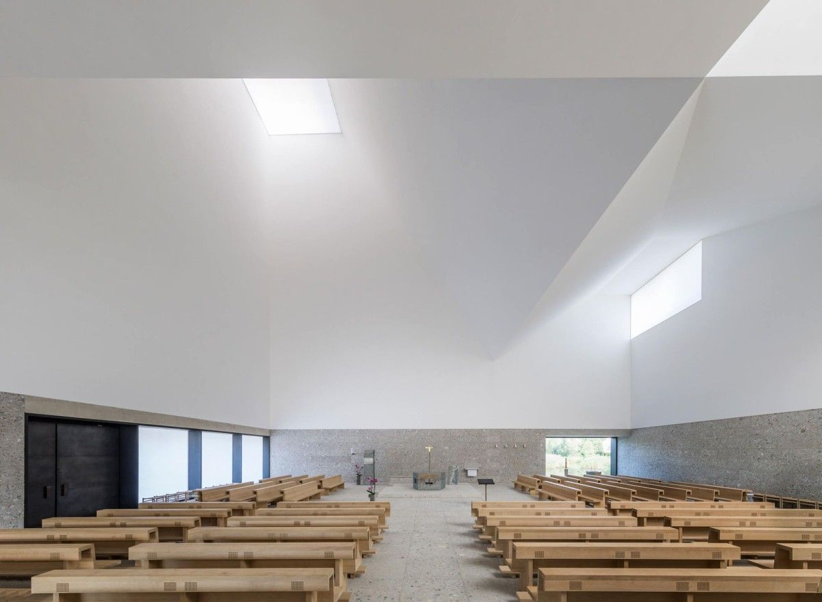 Meck Architekten Meck Architekten Seliger Pater Rupert Church Complex Poing 6