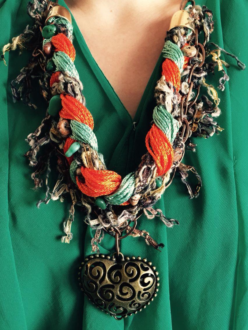 Marelle. Rustic jewelry.