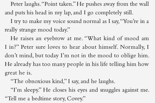 Top Ten Moments Peter Kavinsky Won Me Over In To All The Boys I Ve