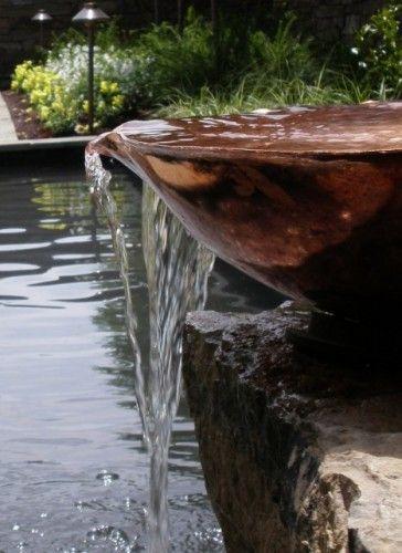Copper Bowl Fountain Water Garden Features