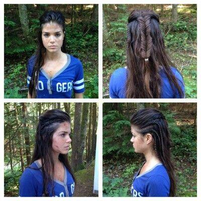 Octavia blake grounder braids the 100   Hairstyles   Pinterest ...
