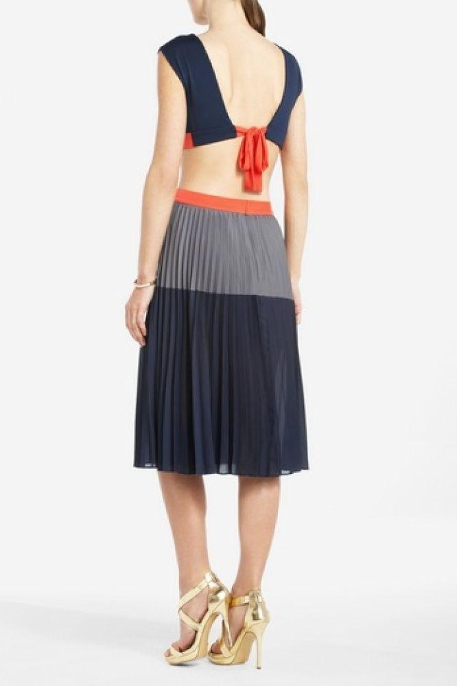 "Backless: BCBG Max Azria ""Maddox"" Cut Out Dress, $258"