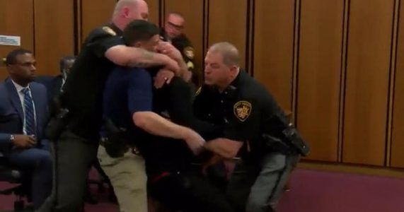 Murder victims brother lunges at killer in court  Videos #news #alternativenews