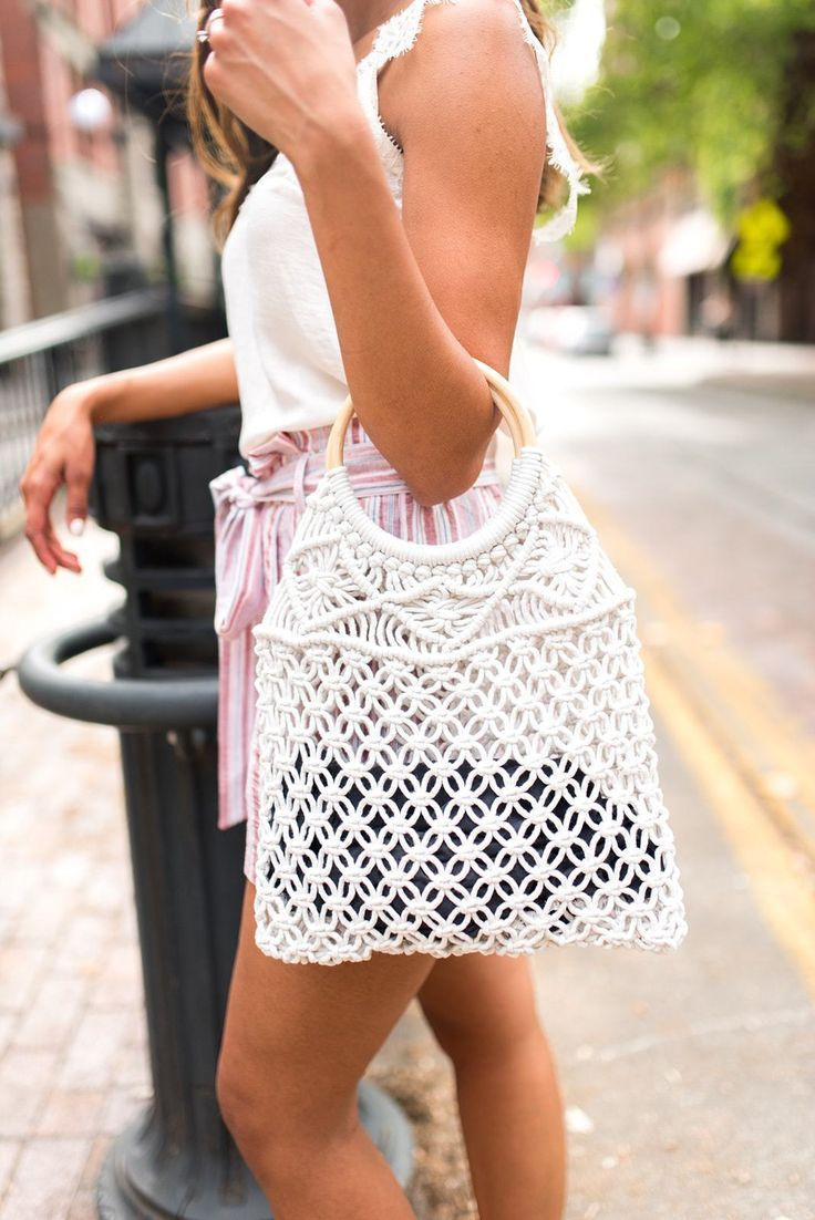 #day #Macramake #purse - Macra-make My Day Purse || shoprollick.com || crochet...