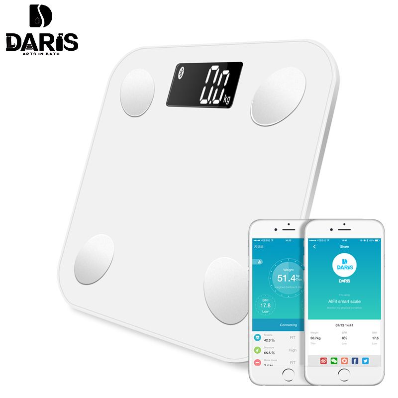 Sdrisb Bathroom Scales Body Fat Digital Weight Electronic 0 01g Intelligent Household