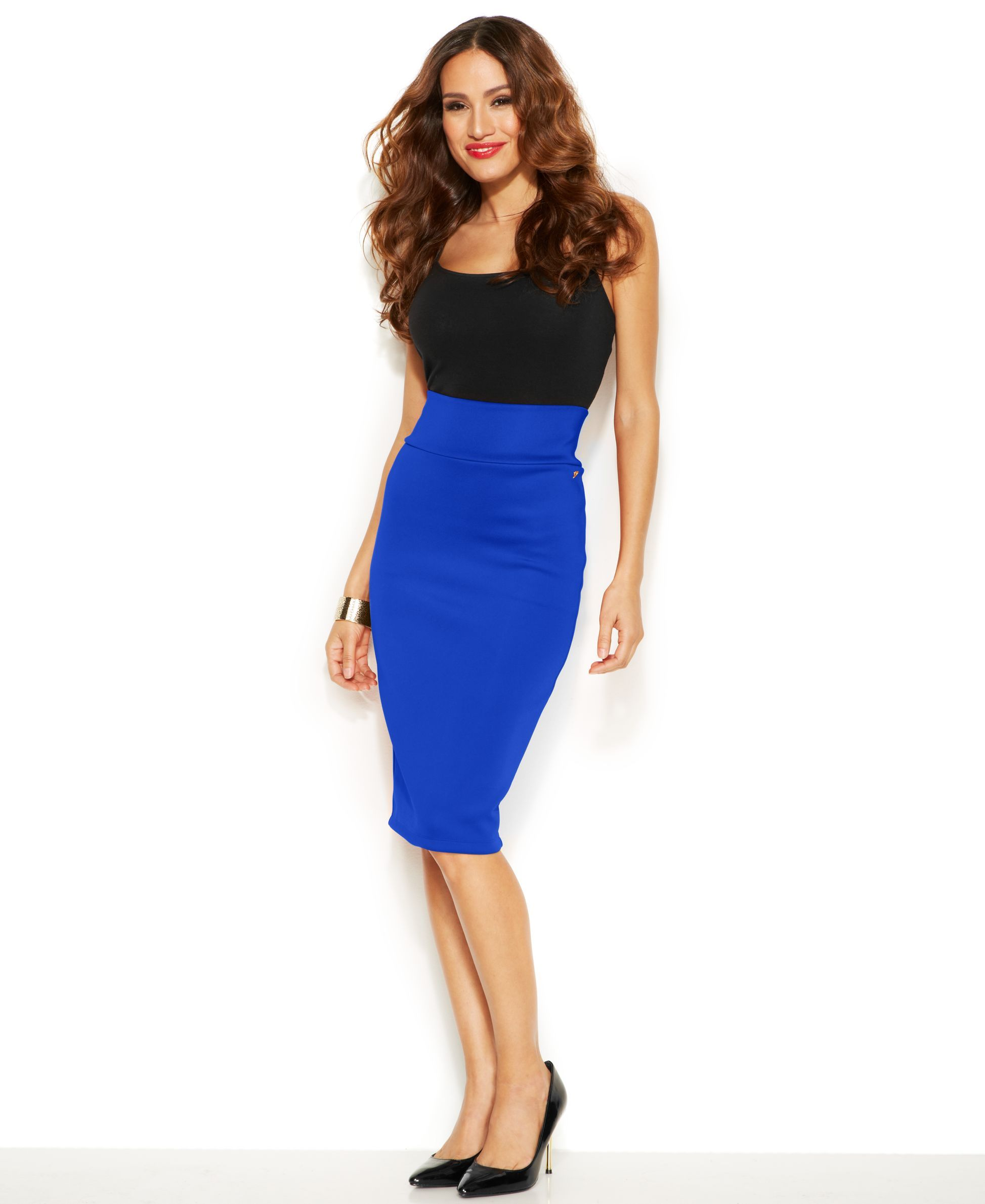 32947004d5 Thalia Sodi Pull-On Scuba Pencil Skirt, Only at Macy's | Products ...