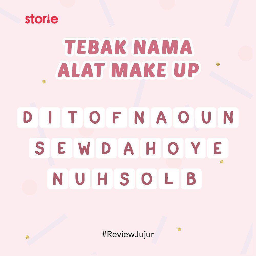 Tebak Nama Alat Makeup Alat Makeup Persamaan