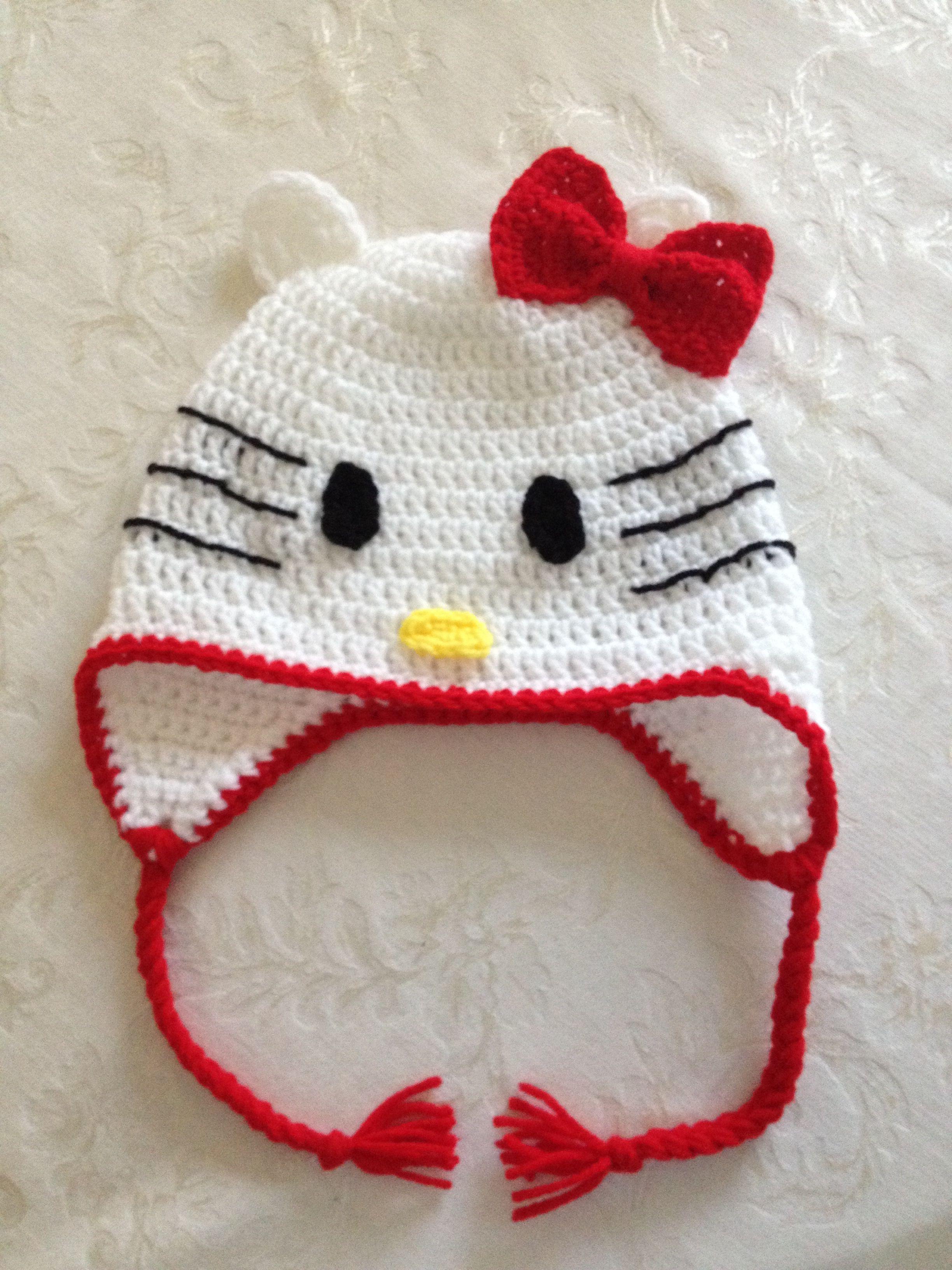 Hello Kitty hat (Nb-child $15 Teen-adult $20)
